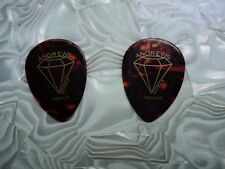 Traditional 358 style celluloid Mandolin picks 12 pack