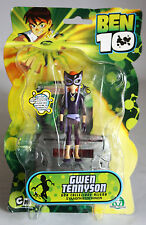 RARE BEN 10 GWEN TENNYSON WITH GREY MATTER FIGURE BANDAI BRAND NEW MOSC !