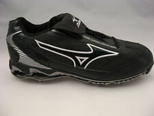 Mizuno Baseball Cleats Size 16 Black 9-Spike Pro Limited Low G4 Metal Spikes NEW