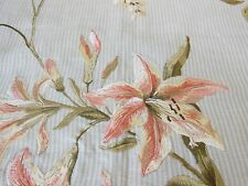 Colefax & Fowler embroidered fabric sample - Madeline