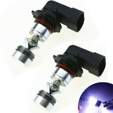 2Pcs 9006 HB4 100W Cree Led Light 20SMD White H10 6000K 9145 Car Fog Bulb 12V