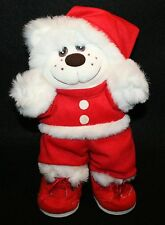 Trappers Plush Bear Christmas Santa Clause Outfit Vintage Stuffed Animal decor