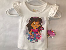 """Nickelodeon Toddler: Girls Childrens Apparel """"Dora"""" T-Shirt Size 2T New with tag"""