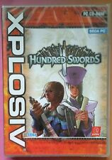 HUNDRED SWORDS PC CD-ROM STRATEGY GAME new & sealed ITALIAN LANGUAGE VERSION