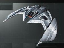Cylon Advanced Raider Battlestar Galactica Spacecraft Dried Wood Model Large New