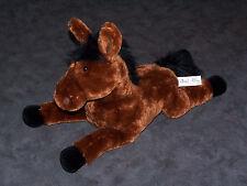 "Toys R Us Animal Alley Gund Geoffrey 2007 Brown Black Horse Pony 17"" Plush VGC!"