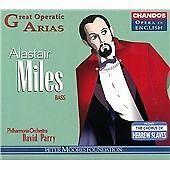 Alastair Miles, bass - Great Operatic Arias [Opera in English], , Very Good CD