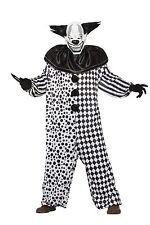 Il male al il Clown Maschera + Tuta Adulto Costume Festa di Halloween