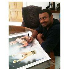 Naseem Hamed impresión firmada - 6 últimos restante por Patrick J de Killian