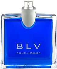 BLV Pour Homme by Bvlgari 3.3 / 3.4 oz edt spray Men Cologne Tester Tester in Bo
