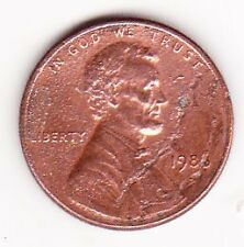United States of America One Cent Coin 1988