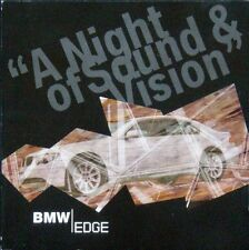 BMW EDGE - A NIGHT OF SOUND & VISION CD