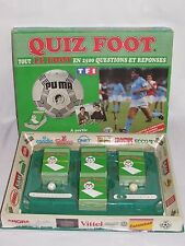 01D11 ANCIEN JEU DE SOCIETE FOOTBALL COLLECTOR QUIZ FOOT DIEGO MARADONA 1988 TF1