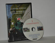 DVD - COLLANA LA GRANDE FERROVIA - BRIENZ-ROTHORN BAHN - CAB RIDE - VOL.  1