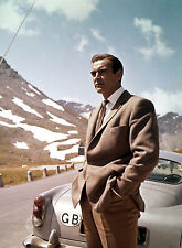PHOTO GOLDFINGER -  JAMES-BOND - SEAN CONNERY
