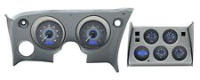 1968-1977 Corvette Carbon Fiber & Blue Dakota Digital VHX Analog Gauge Kit