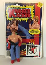PKA Official KARATE KICKER action figure 1985 Placo Toys Kickboxer 1980s