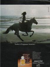 Publicité Advertising AMAZONE  Parfum d' Hermes