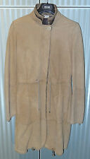 BRUNELLO CUCINELLI WOMEN LUXURY LIGHT BROWN SHEARLING  MINT SIZE ITA 42 - USA 8