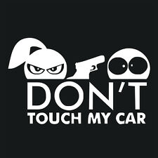 Don't Touch My Car Funny Vinyl Decal Truck Window Bumper Sticker JDM Graphic