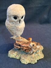 Border Fine Arts Owl With Mouse