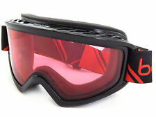 BOLLE Freeze Sci Snowboard Occhiali Shiny Black Red/Vermillion cat.2 21489