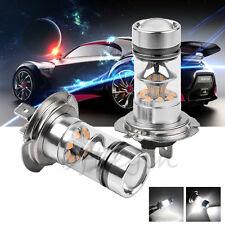 2x 100W H7 20SMD LED Cree Xénon Ampoule Feux Lampe Voiture Blanc DRL 6000K Auto