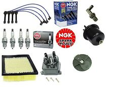 Complete Tune Up Kit Filters,Cap,Rotor,NGK Wires & Plugs Honda CRV 1997 to 1998