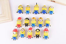 SUPERCUTE CUSTOM New DESPICABLE ME MINION 32GB USB STICK PEN FLASH DRIVE