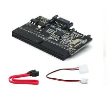 2 in 1 IDE to SATA / SATA to IDE Adapter Converter + Free SATA & Power Cables UK