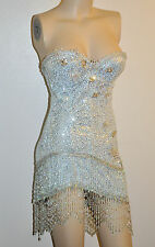 Trashy Lingerie Elsa Ice Queen Princess Beaded Beaded Snowflake dress costume