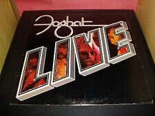 "Foghat Live 12"" Vinyl Record Album Bearsville BRK-6971 VG Condition Slow Ride"