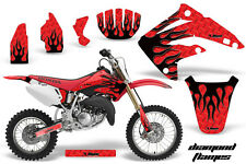 AMR Racing Honda CR85R Graphic Kit Decal Sticker MX Wrap 2003-2007 DMND FLAME K