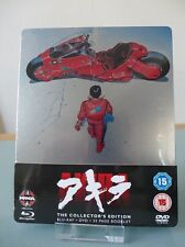 Blu ray steelbook Akira UK exclusive with booklet New Neuf sans VF Lire svp READ