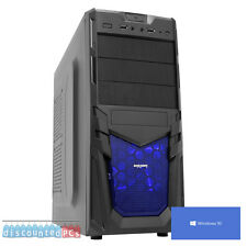 ULTRA FAST GAMING PC COMPUTER AMD DUAL CORE 3.9 1TB 16GB ATI 8370 WINDOWS10 dp4