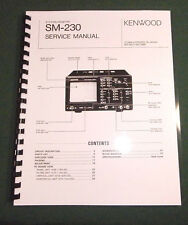 Kenwood SM-230 Service Manual - Card Stock Covers & 32 lb Paper