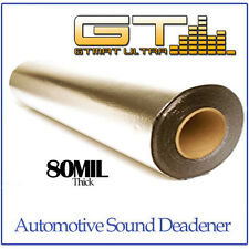 NEW 10sqft (36in Wide Single Roll) GTMAT 80mil Ultra Sound Deadener Dampening