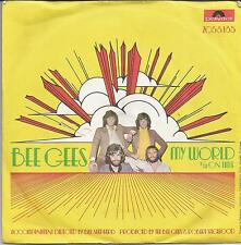 BEE GEES My world GERMAN SINGLE POLYDOR 1971