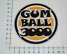 GUMBALL 3000 Aufkleber Sticker Hot Rod Racing Rally Motorsport Oldschool Mi114