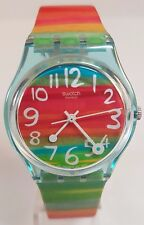Swatch Unisex Color The Sky Watch GS124