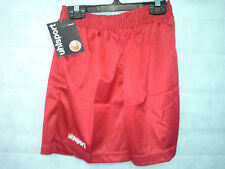 "Uhlsport Mens Football Shorts Size 38/40"" Waist Brand New Red #3863"