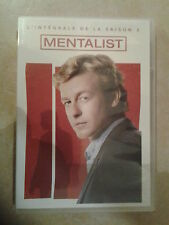 22606 // THE MENTALIST SAISON 2 - COFFRET 5 DVD NEUF MAIS SANS BLISTER