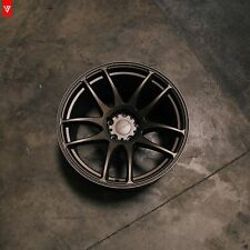 18X10.5 VORDOVEN FORME9 SUBARU STI EVO 7 8 9 10 RIM WHEEL +22 SET OF 4 WHEELS