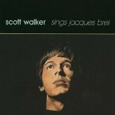 SCOTT WALKER - SCOTT WALKER SINGS JACQUES BREL  CD  9 TRACKS POP  NEU