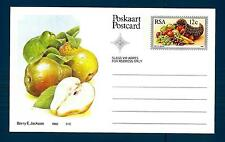 SOUTH AFRICA - SUD AFRICA - RSA - 1982 - Cart. Post. - Frutta locale: Pere willi