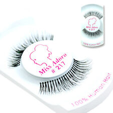 Miss Adoro False Eyelashes 100% Human Hair #217 /USA Seller