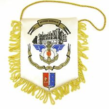 FANION WIMPEL PENNANT ACTION SOCIALE COMMANDEMENT MILITAIRE ILE DE FRANCE