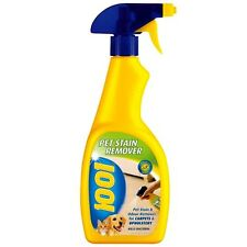 1001 Pet Stain and Odour Remover For Carpets & Upholstery - 500ml