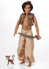 "17"" ALADDIN & ABU DISNEY STORE LIMITED EDITION OF 3500 DOLL"