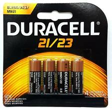 4 Pack Duracell A23 12 Volt Battery MN21 MN23 23AE 21/23 GP23 23A 23GA Mar-2018